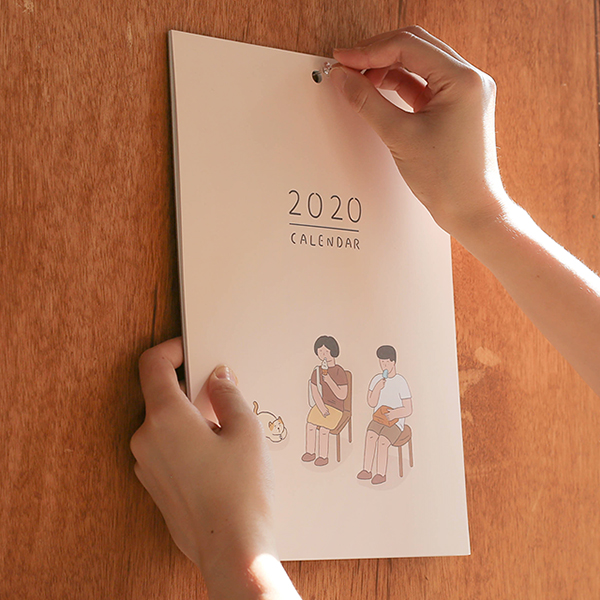 [Indigo] 2020년도 자문자답 일상 달력 - 너와 함께한 계절
