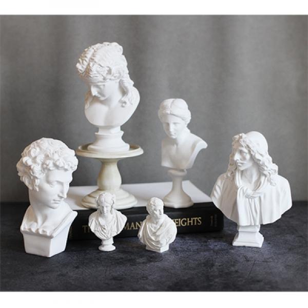 [콩지] 소형 석고상 15cm